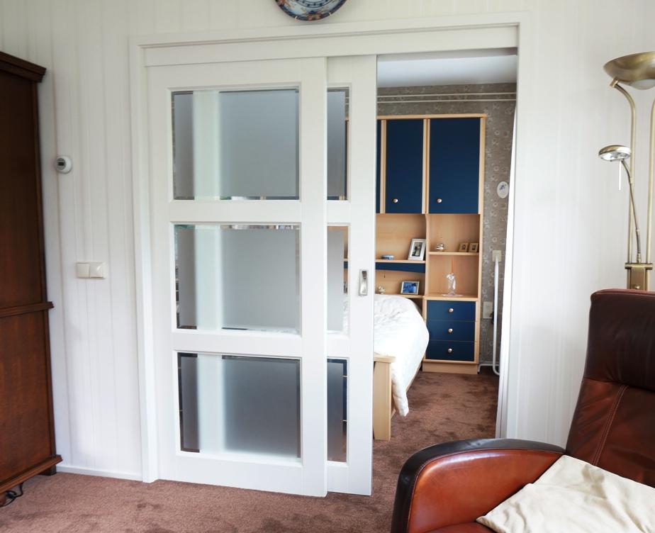 4u design maatwerk meubelen speciaal voor u Schuifdeur woonkamer