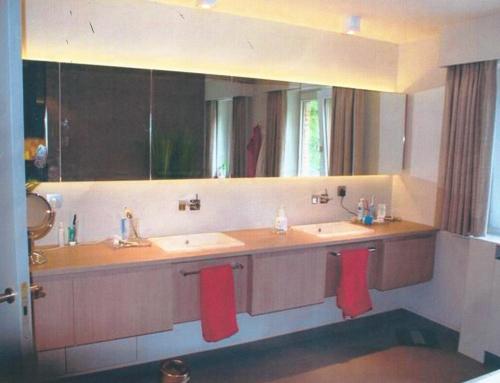 Inrichting badkamer